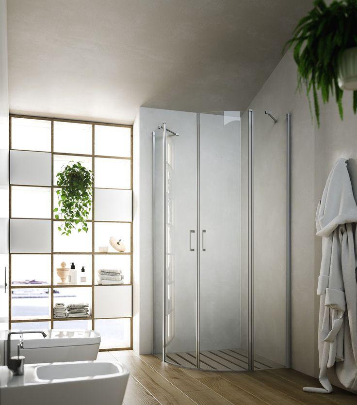 Box doccia semicircolare SOHO MR Collezione Showering By