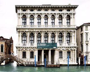 Ca' Rezzonico Baroque façade on the Grand Canal