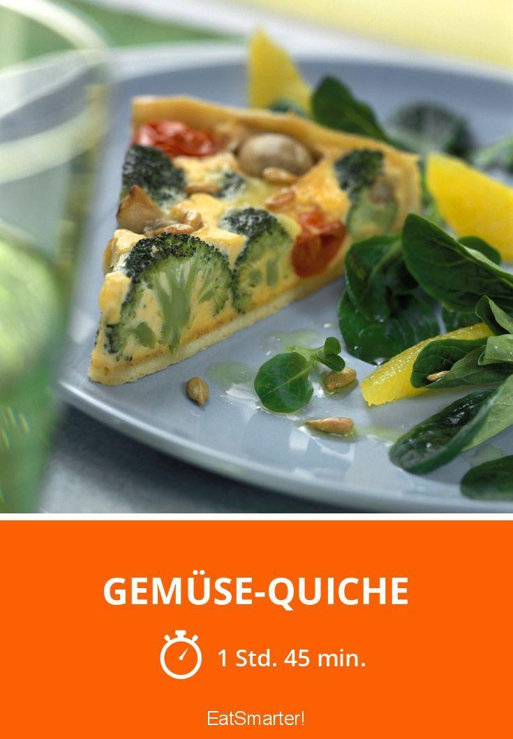 Gemüse-Quiche - smarter - Zeit: 1 Std. 45 Min. | eatsmarter.de