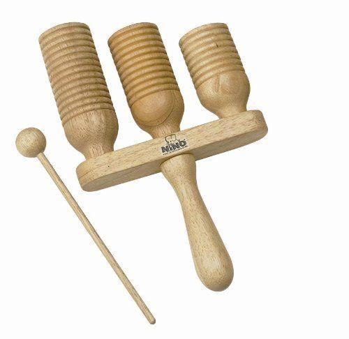 Meinl NINO Wood A Go-Go by Meinl Percussion. $30.57. Wood A Go-Go. Save 10% Off!
