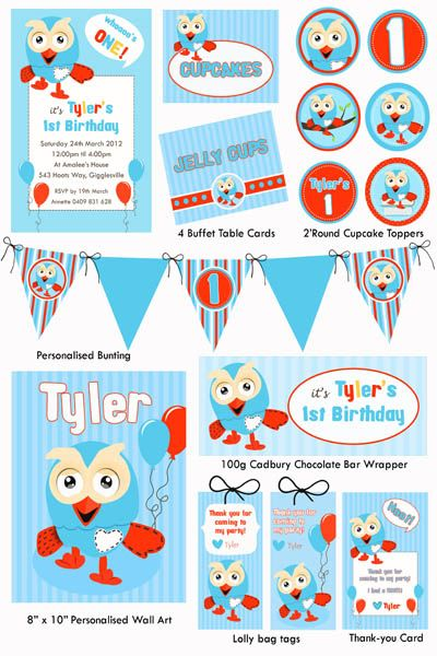 Giggle & Hoot Party Printable