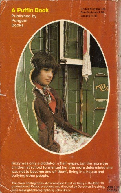 "Kizzy based on the original book ""The Diddakoi"" written bu Rumer Godden +-1976"