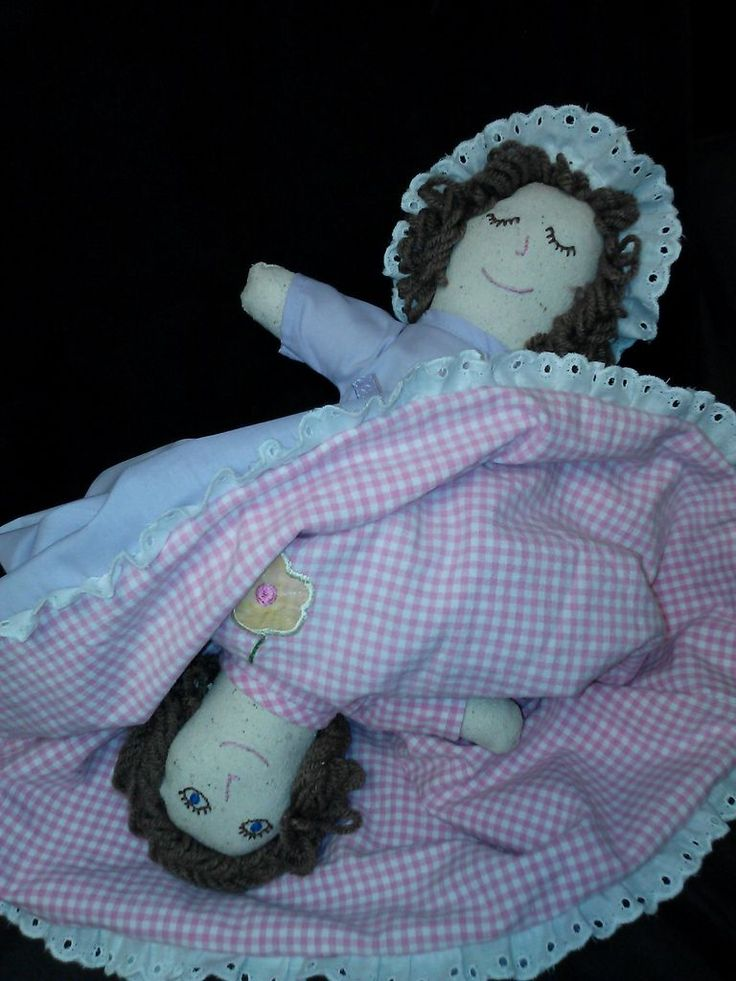 DIY topsy turvy doll. I think mom made one for me when i was young....