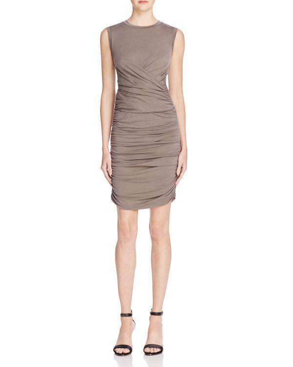 Nicole Miller Cupro Jersey Dress