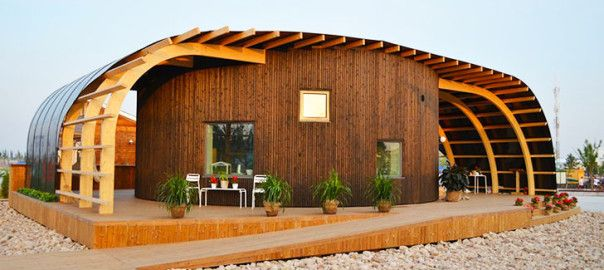 HALO – Passive Solar Home Designed by Swedish Students