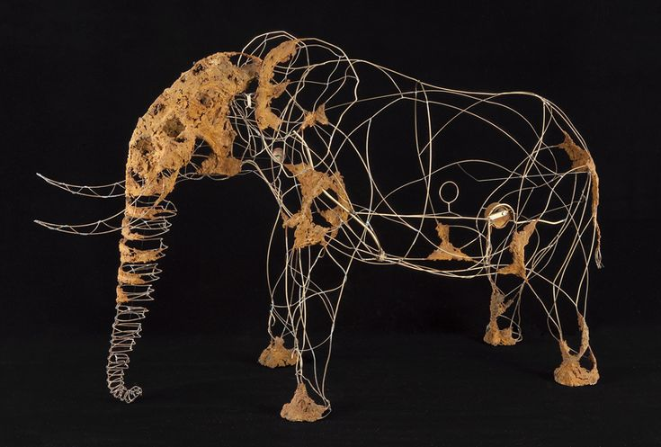 James CHEDBURN wire sculptures