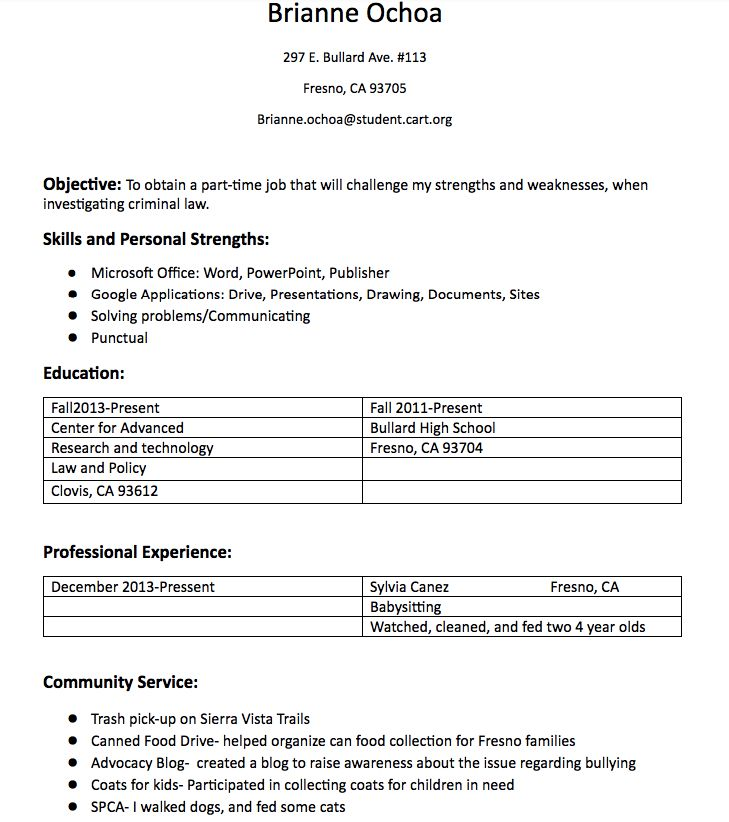Sociology Student Resume Example -    resumesdesign - cart attendant sample resume