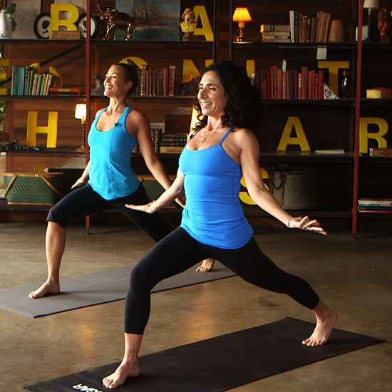 Get Happy and Toned With This Yoga Series From Jennifer Aniston's Trainer