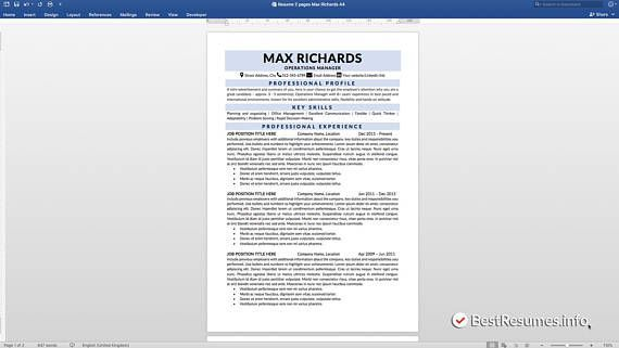 Clean Resume Resume Template Word Resume Template Instant Download | Professional Resume | Modern Resume | Simple Resume Template | Minimalist Resume | One Page resume | Resume MS Word | Mac Resume | Resume Design | Resume Cover Letter | 1 Page Resume BONUS: Resume Checklist - Tips for the Perfect Resume included in the package! Tips and tricks for the perfect resume that gets you the job! This multipack includes Resume Template 1 page, Cover Letter template, and References template.