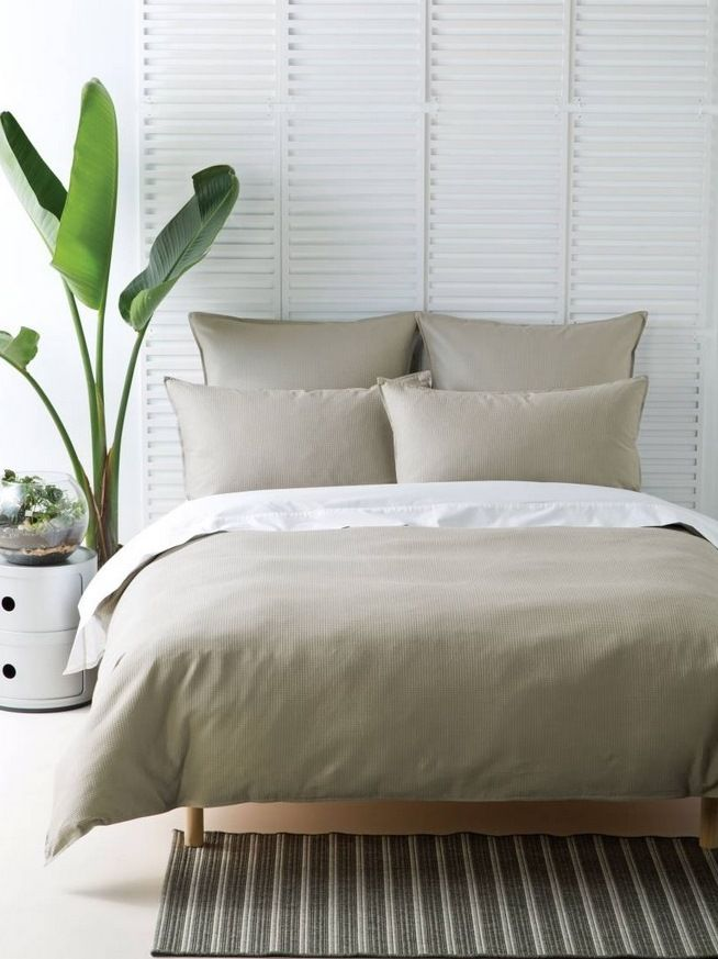 Waffle linen for bed 3