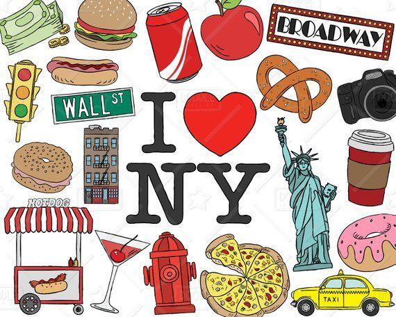 Imagen Relacionada Holiday Clipart New York Drawing Clip Art