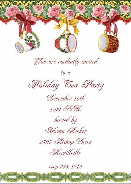 0d4c06df1f76c4c6a1e858a90882e420 christmas tea party christmas ideas best 25 christmas tea party ideas on pinterest,Christmas Tea Party Invitations