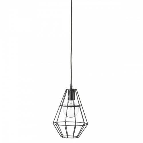Pernille er en trendy taklampe fra Bloomingville utført i matt sort farget metall. Lampen er svært dekorativ og vil tilføre en unik stil til rommet. Pernille Pendel har en diameter på 20 cm og en høyde på 30 cm.Lampen leveres med sort oppheng og 2 meter lang stoffledning.