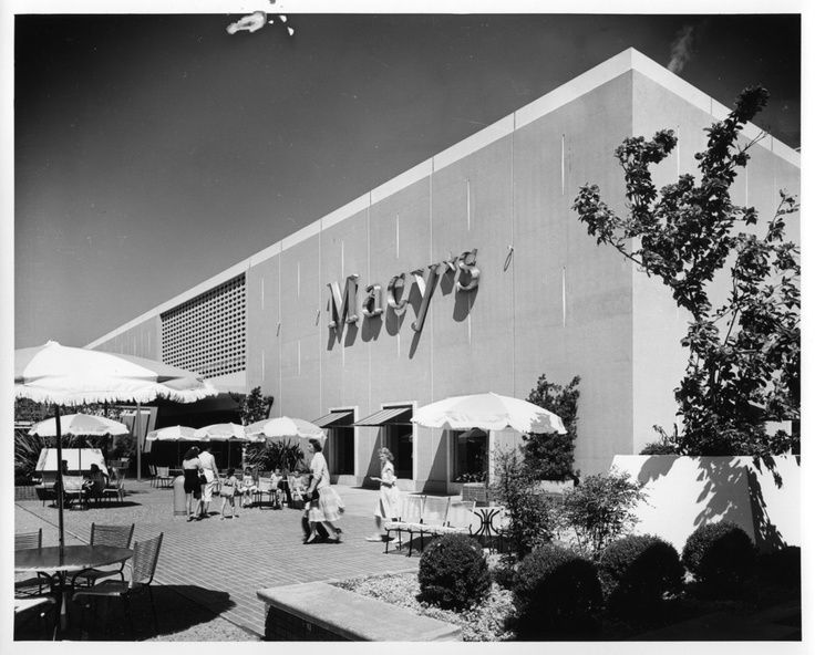 An original photograph by the great Arnold Del Carlo of the Macy's department store at Valley Fair Mall in San Jose, CA. Description from pinterest.com. I searched for this on bing.com/images