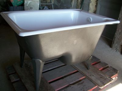 Loved using baignoire sabot in Brittany & it's perfect for our small bathroom.