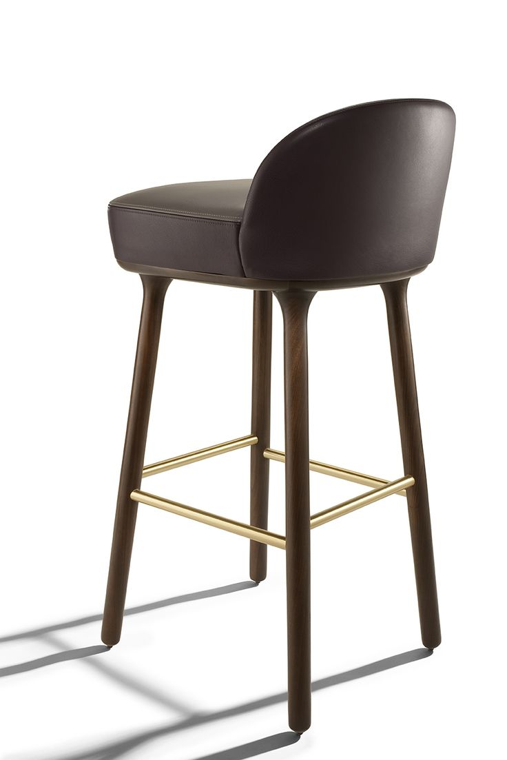 Unique Designer Leather Bar Stools