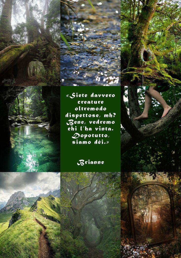"""Brianne è un personaggio di """"Soffitti Sconosciuti"""", ©Elena De Martino (Frase e descrizione in italiano)"""