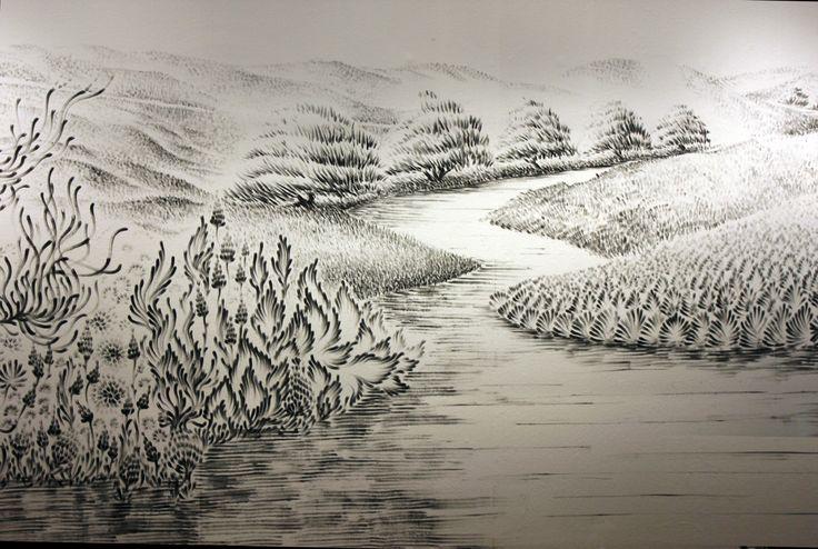 Incredible Fingerprint Art (by Judith Braun)