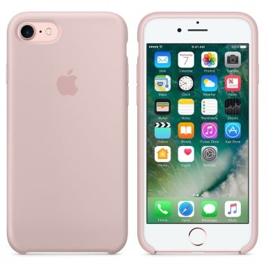 Apple iPhone 7 siliconenhoesje rozenkwarts  SHOP ONLINE: http://www.purelifestyle.be/shop/view/technology/iphone-beschermhoezen/apple-iphone-7-siliconenhoesje-rozenkwarts