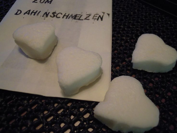Marshmallow-Herzen