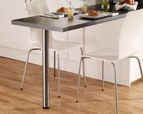 Breakfast bar support leg | Kitchen worktop accessories | Howdens Joinery