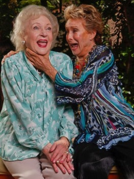 Betty White and Cloris Leachman
