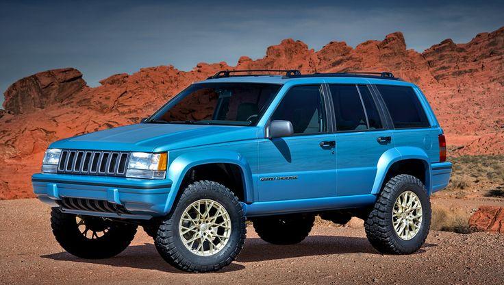 Jeep Grand One — это внедорожник Grand Cherokee первого поколения (индекс ZJ) образца 1993 года, призванный отпраздновать грядущее 25-летие модели