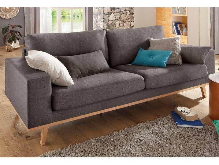 Home Affaire 3 Sitzer Torino Braun Struktur Home Decor Home Sofa