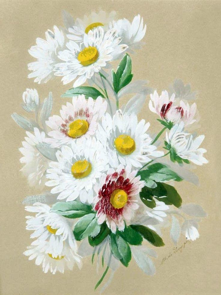 Цветочный рай известного франкоАмериканского художника Paul de Longpre (1855–1911)... акварели и литографии. (часть-2). Обсуждение на LiveInternet - Российский Сервис Онлайн-Дневников
