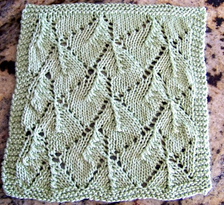 FREE Kitchen Dishcloth Pattern From Laws Of Knitting.com
