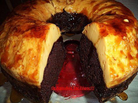 Ένα καταπληκτικό γλυκό. Υπέροχο ζουμερό κέικ κάτω και φανταστική βελούδινηκρέμ-καραμελέ με 3 υλικά επάνω. Σας παρακαλώ φτιάξτε το είναι πανεύκολο και πεντανόστιμο. Δεν περιγράφω άλλο…ΥΛΙΚΑ ΓΙΑ ΤΟ ΚΕΙΚ 1 πακέτο έτοιμο μίγμα για σοκολατένιο κέικ (υπάρχει σε όλα τα μεγάλα σούπερ μάρκετ) 3 αυγά 1/2 κούπα σπορέλαιο 1 κούπα νερό 1/2 κούπα έτοιμο σιρόπι καραμέλα …
