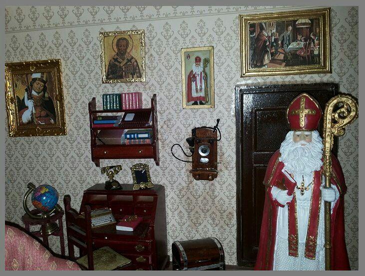 Werkkamer van Sinterklaas