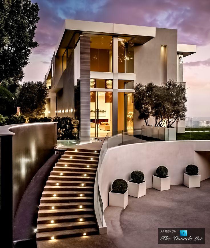 Modern Homes Los Angeles California: $24.5 Million Bel Air Residence