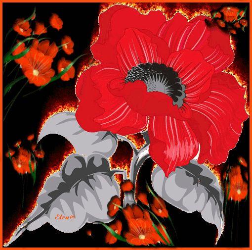 Картинка анимация цветочек аленький цветочек