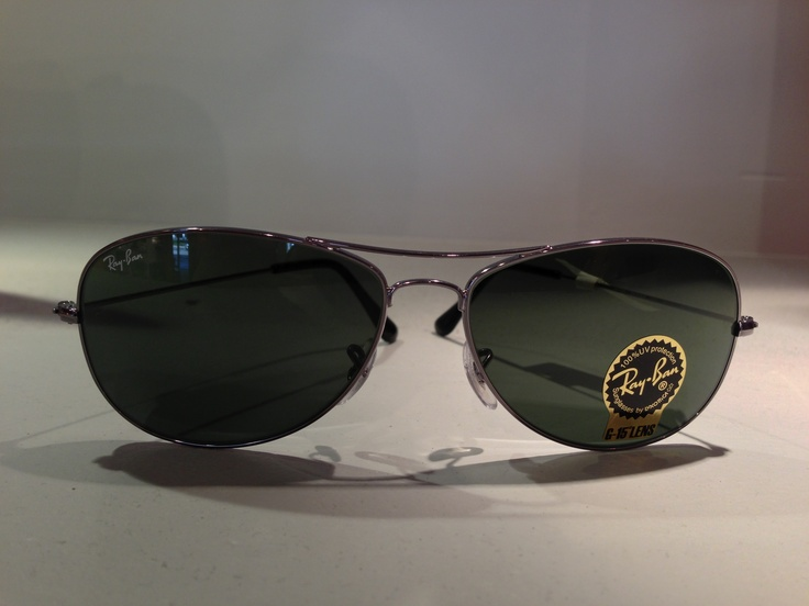 Way cool. Ray Ban's have to be one of our favorite eye wear brands. We have a wide selection of Ray Ban's at our Houston and Katy locations.