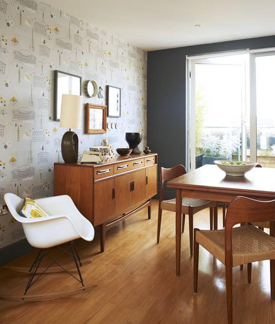 Vintage sideboard  (interior design byKeith Stephenson and Mark Hampshire - Mini Moderns)