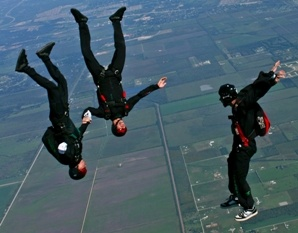Jump out of a perfectly good airplane!