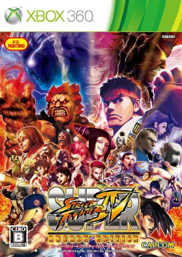 Super Street Fighter IV: Arcade Edition [Japan Import] @ niftywarehouse.com #NiftyWarehouse #StreetFighter #VideoGames #Gaming
