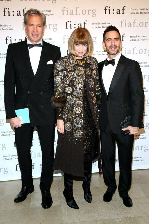 Robert Duffy, Anna Wintour, & Marc Jacobs