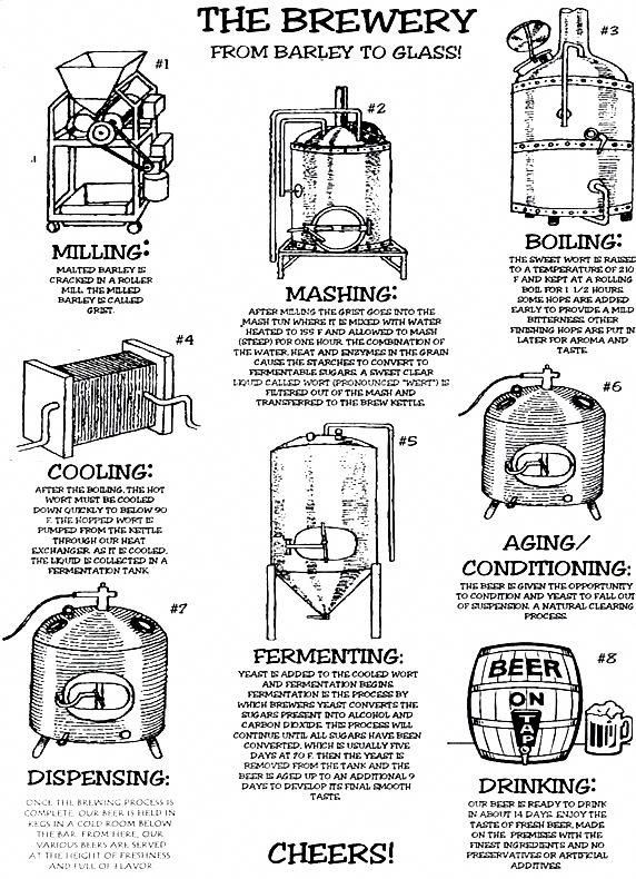 The Brewery From Barley To Glass Homebrewingrecipesbeer