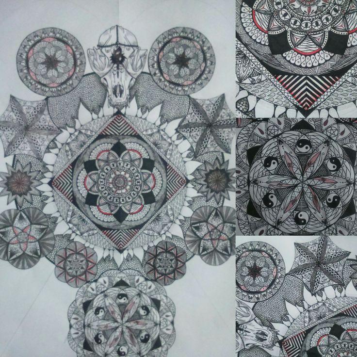 Mandalas | art by D. Świątek