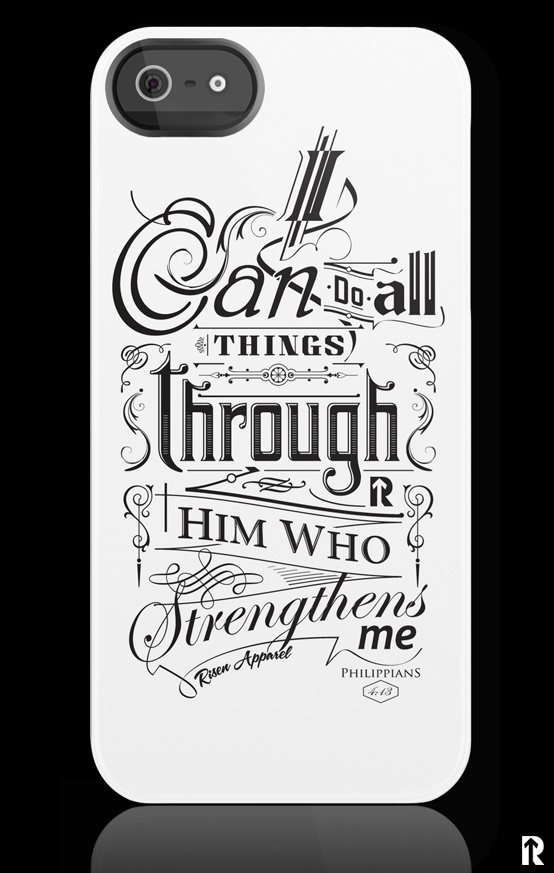 I Can Do All Things Through Him Who Strengthens Me Philippians 413 Uncommon