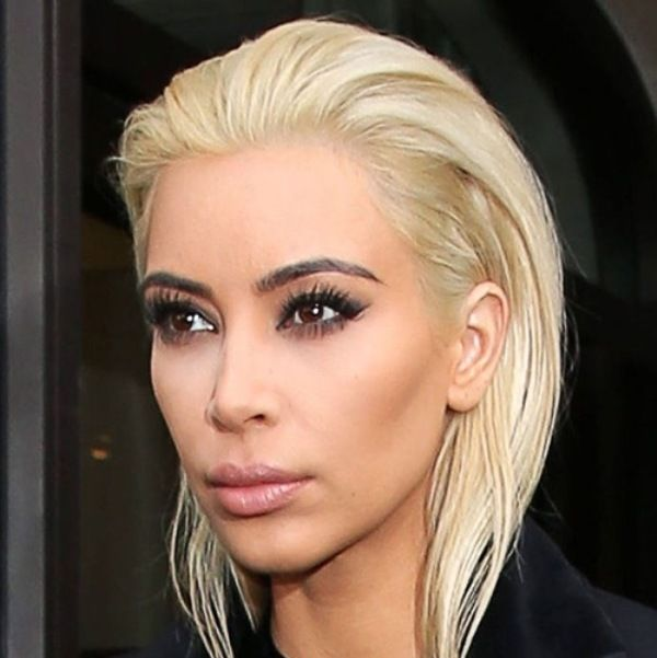 Well this is different - what do you think of Kim's new blonde 'do? If you're thinking of copying her style be sure to check out our top tips on going blonde! http://www.regissalons.co.uk/blog/womens-styles/top-tips-for-going-blonde  #KimKardashian #BlondeHair #Blonde #Hair