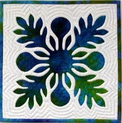 Quilt University, Hawaiian Quilting 101 by Nancy Chong (Breadfuit/Ulu pattern)