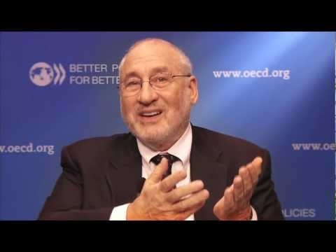 Joseph Stiglitz talks about going beyond GDP: Nobel Prize-winning economist Joseph Stiglitz talked about the new means of measuring progress well-being and sustainability during a recent visit to the OECD. For more info visit: www.oecd.org/betterlifeinitiative