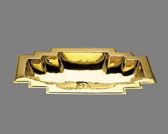 Best Photo Gallery For Website PB Maya Large ART DECO Lavatory Sink