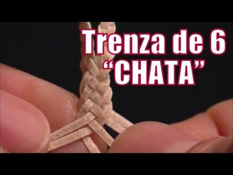 """Trenza de 6 chata """"El Rincón del Soguero"""" - YouTube"""