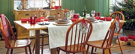 Woodland Wonderland Christmas Dining Room #DunelmPinterWonderland #Christmas #Comp #Win #Dunelm