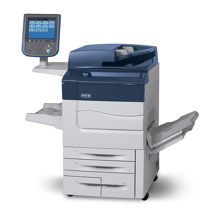 Professional color multifunction printer  Print, copy, fax (optional) and scan, including scan to PC, USB or email, and mobile printing Print speed up to 70 ppm color, up to 75 ppm black Max...