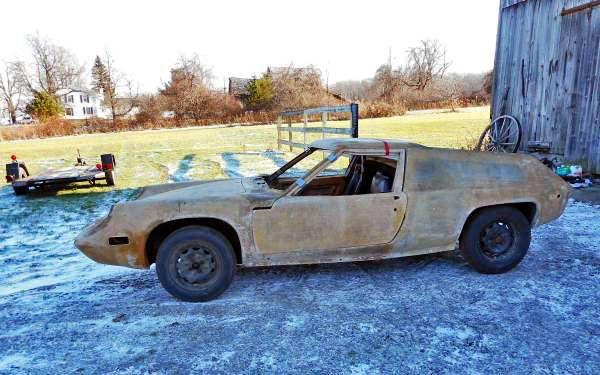 Ugly Duckling: 1971 Lotus Europa S2 - http://barnfinds.com/ugly-duckling-1971-lotus-europa-s2/